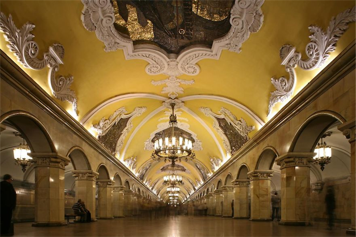 Top 20 most beautiful subway stations galleries   Top 10 most beautiful subway stations galleries  3