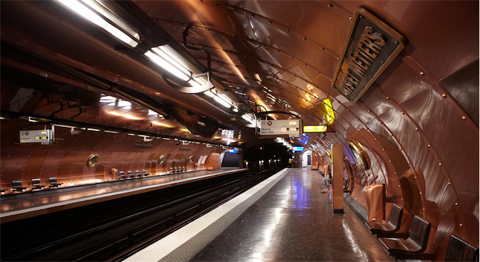 Top 20 most beautiful subway stations galleries   Top 10 most beautiful subway stations galleries  4