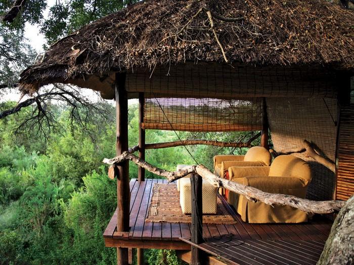 top 10 hotels and resorts of 2014  Top 10 Hotels and Resorts of 2014 53da5bef6dec627b149e564a londolozi tree camp kruger park south africa rwav 1110