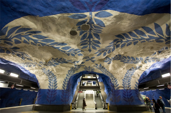 Top 20 most beautiful subway stations galleries   Top 10 most beautiful subway stations galleries  6