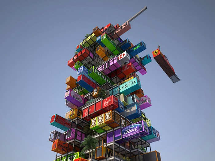 The Best  shipping container structures of 2014   The Best Shipping Container Structures of 2014 TOP 10 shipping container structures of 2014 designboom 06