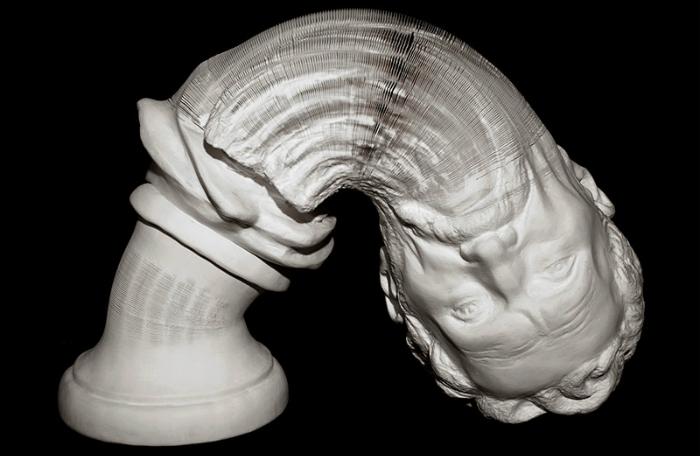 Bizarre Sculptures by Hongbo Li Hongbo Bizarre Sculptures by Li Hongbo ele2