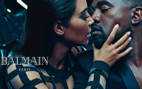 The Best Spring/Summer 2015 Fashion Campaigns  kim kanye balmain 23 480x300