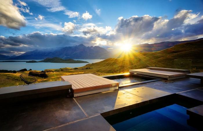 top 10 hotels and resorts of 2014  Top 10 Hotels and Resorts of 2014 new zeland