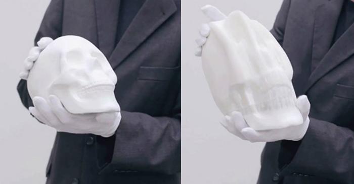 Bizarre Sculptures by Li Hongbo Li Hongbo Bizarre Sculptures by Li Hongbo skull 2