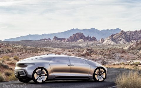 """This is the latest high technology car by Mercedez Benz. The idea is to create a car that will be more than a mean of transport and will become a mobile living space"""