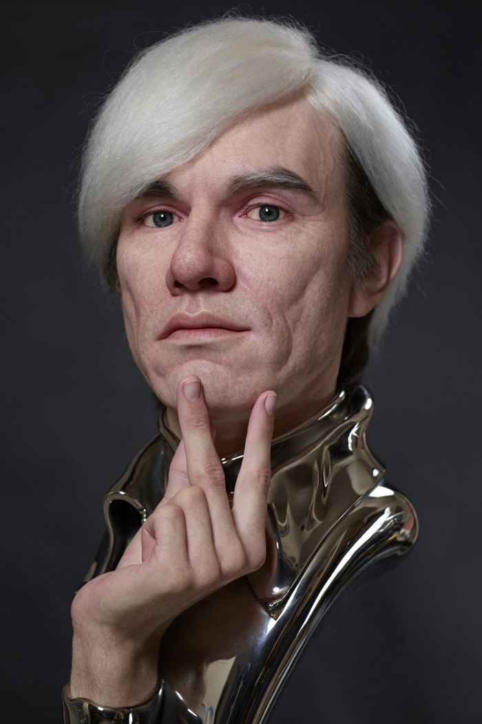 """""""Kazuhiro Tsuji is best known by his skills as a special-effects make-up artist in Hollywood, but this time, he created amazing sculptures with famous faces.""""  Kazuhiro Tsuji designs Hyper Realistic portraits Kazuhiro Tsuji designs Hyper Realistic portraits artists i lobo you5"""