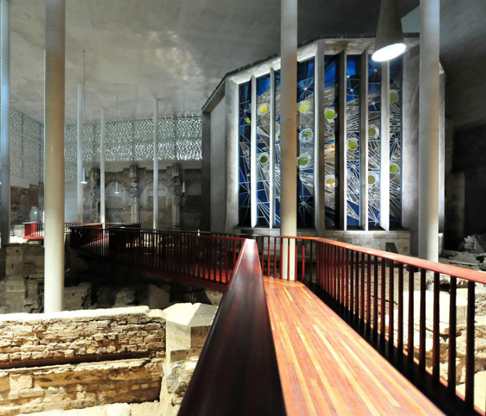 Peter Zumthor builts Kolumba Museum on top of ruins   Peter Zumthor built Kolumba Museum on top of ruins cover8
