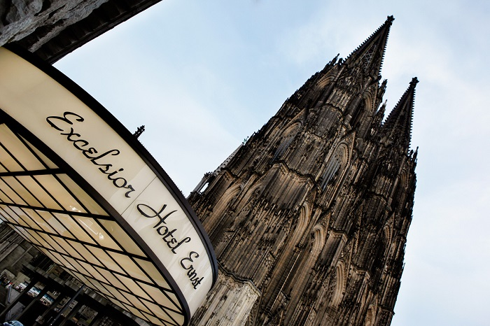 """""""If you are going to IMM Cologne and haven't decided yet where to sleep, here is the list of the Best Luxury Hotels in Cologne. Choose your favorite!""""  Best Luxury Hotels in Cologne excelsi"""