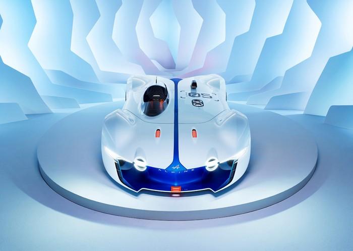 Renault Alpine Vision GT developed for Gran Turismo 6  Renault Alpine Vision GT developed for Gran Turismo 6 renault alpine vision designboom01