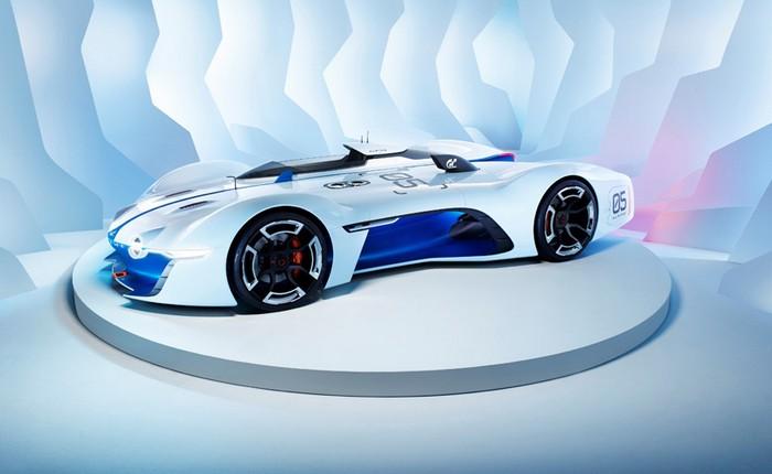 Renault Alpine Vision GT developed for Gran Turismo 6  Renault Alpine Vision GT developed for Gran Turismo 6 renault alpine vision designboom02