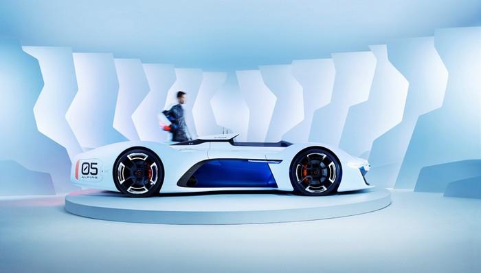Renault Alpine Vision GT developed for Gran Turismo 6  Renault Alpine Vision GT developed for Gran Turismo 6 renault alpine vision designboom03
