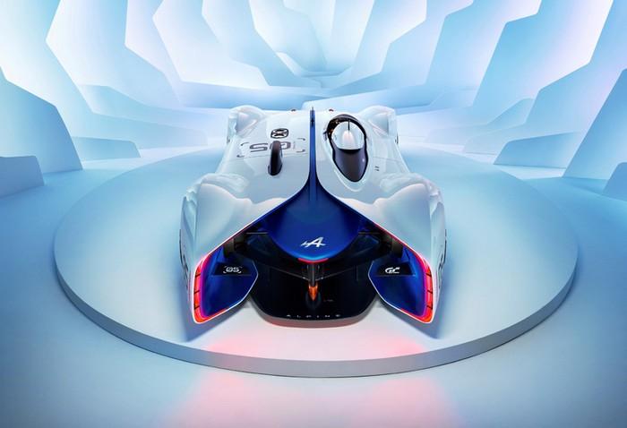 Renault Alpine Vision GT developed for Gran Turismo 6  Renault Alpine Vision GT developed for Gran Turismo 6 renault alpine vision designboom05
