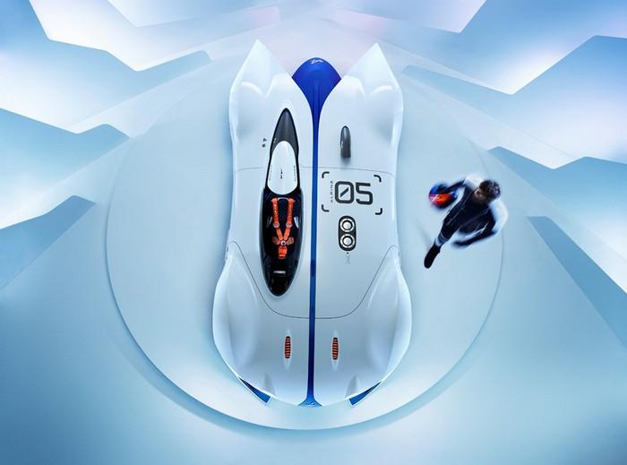 Renault Alpine Vision GT developed for Gran Turismo 6  Renault Alpine Vision GT developed for Gran Turismo 6 renault alpine vision designboom06