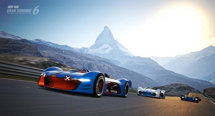 Renault Alpine Vision GT developed for Gran Turismo 6  Renault Alpine Vision GT developed for Gran Turismo 6 renault alpine vision designboom09