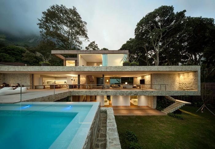 Outstanding Brazilian House by Studio Arthur Casas  Outstanding Brazilian House by Studio Arthur Casas studio arthur casas casa AL rio de janeiro brazil designboom 04