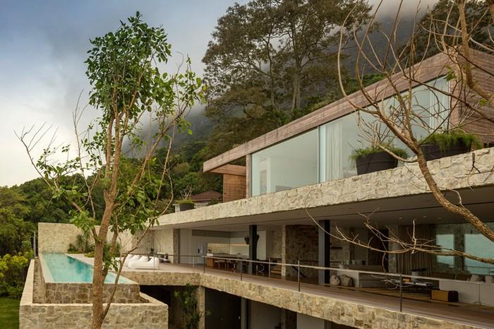 sOutstanding Brazilian House by Studio Arthur Casas  Outstanding Brazilian House by Studio Arthur Casas studio arthur casas casa AL rio de janeiro brazil designboom 05
