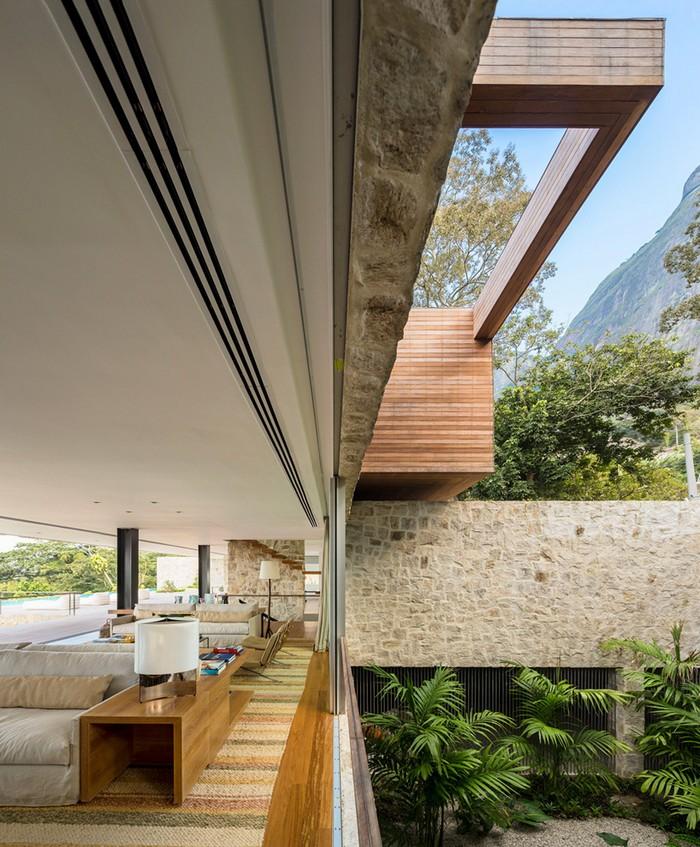 Outstanding Brazilian House by Studio Arthur Casas  Outstanding Brazilian House by Studio Arthur Casas studio arthur casas casa AL rio de janeiro brazil designboom 07