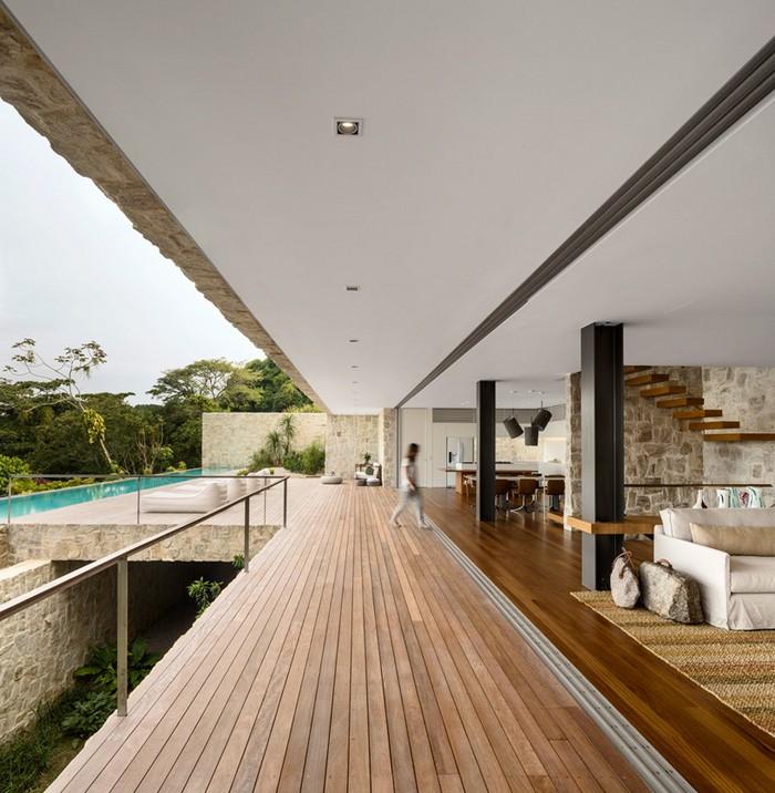 Outstanding Brazilian House by Studio Arthur Casas  Outstanding Brazilian House by Studio Arthur Casas studio arthur casas casa AL rio de janeiro brazil designboom 08