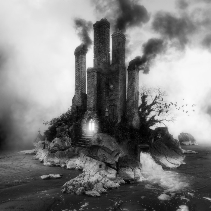 Sinister Architecture Constructed by Jim Kazanjian