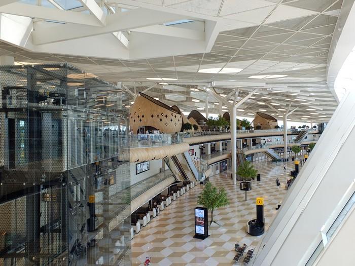 The Futuristic Terminal Of Baku S Heydar Aliyev