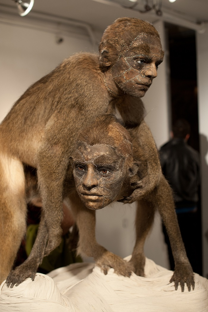 """""""This contemporary artist explores methods and materials that highlight illusionism of all forms to fool the viewers' eye.""""  Kate Clark contemporary animal sculptures Kate Clark contemporary animal sculptures artists i lobo you9"""