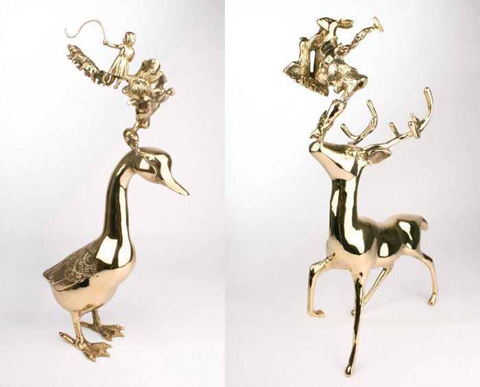 """""""Stephen Johnson's work appears at first as a playful celebration of domestic ornament and kitsch. """""""