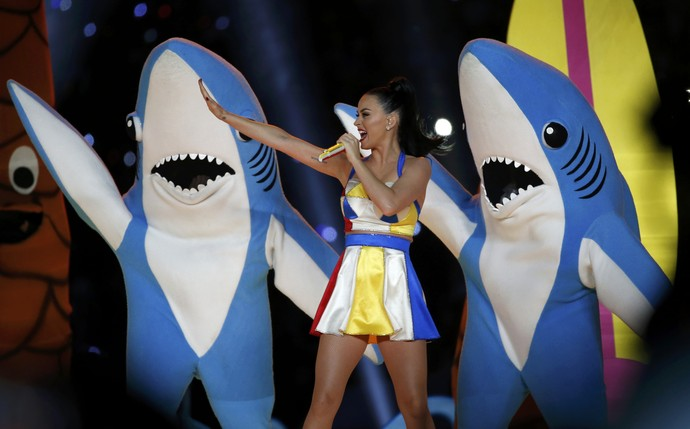 """""""Katy Perry was the performer of this year Super Bowl Halftime show. As we should expect from the beautiful singer, she put on a show very imaginative, fun and nearly flawless."""""""