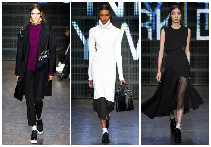 collage 4  The Highlight of New York Fashion Week Fall 2015- part I collage 4