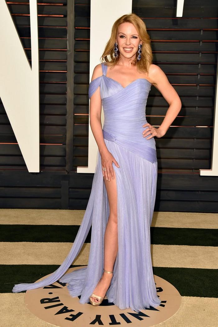 Trajes De Baño Vintage Caracas:Kylie Minogue 2015 Vanity Fair Oscar Party