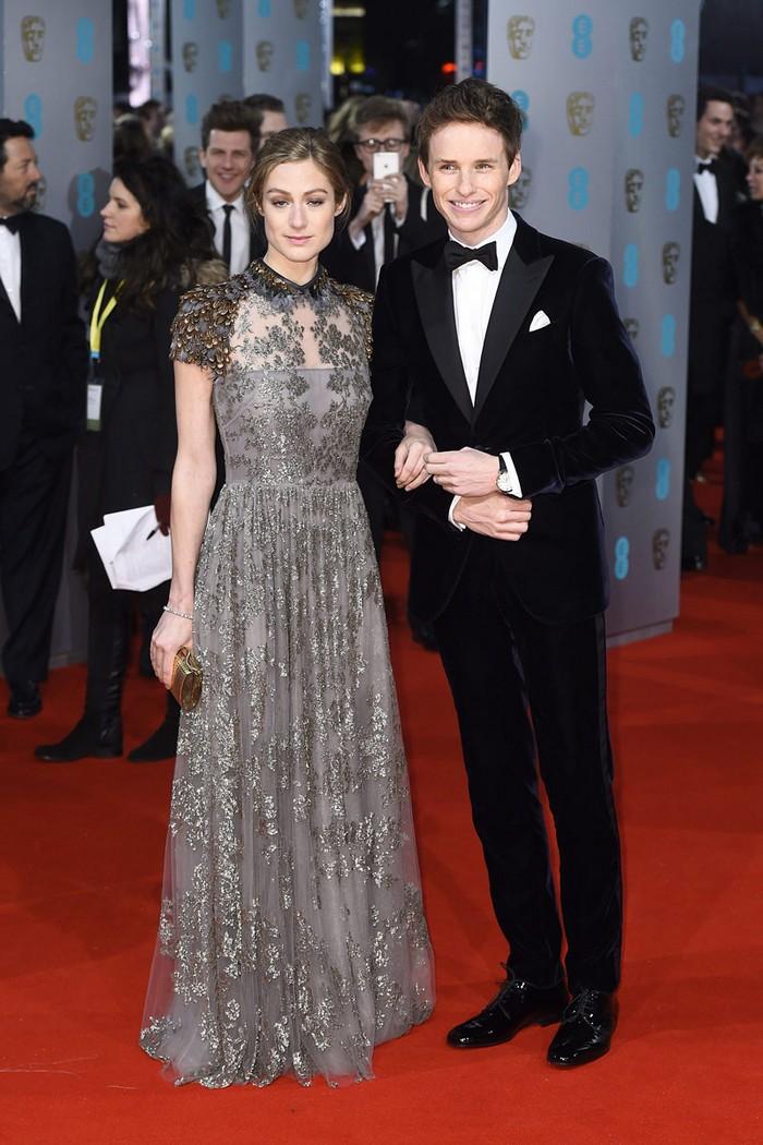The Winners of BAFTA 2015 Awards    The Winners of BAFTA 2015 Awards   todas las fotos de alfombra roja con las invitadas a los premios bafta 2015 en londres eddie redmayne y hannah bagshawe  3602 800x