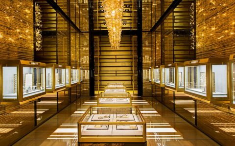The Most Exclusive Stands at BaselWorld  The Golden Hall within Graff Diamonds new BaselWorld booth 480x300