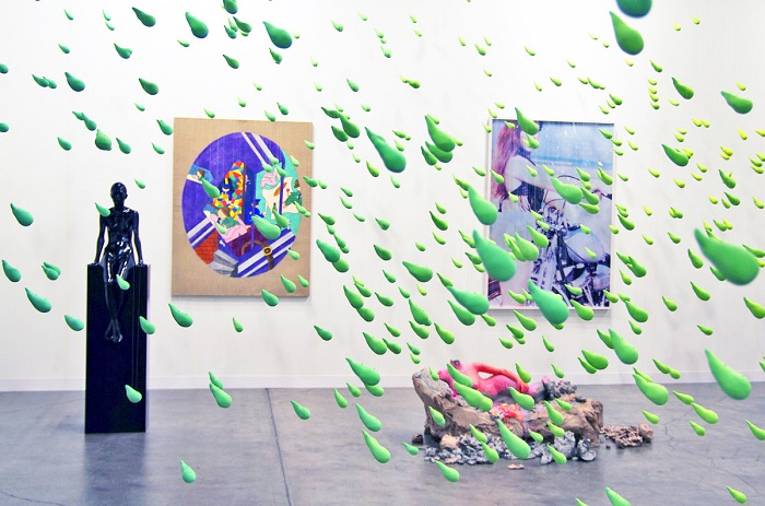 """""""Urs Fisher presented at Art Basel an immersive field of """"small rain"""".  Urs Fisher small rain at Art Basel Urs Fisher small rain at Art Basel artists i lobo you5"""