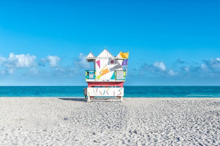 """No Lifeguard Duty""  Miami Phography By Richard Silver"