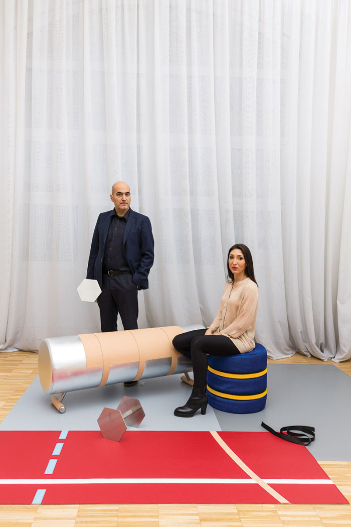 """""""One of the most talked shows at Milan Design week was Atelier Biagetti's playful Body Building exhibition""""  Body building collection at Milan design week 2015 Body building collection at Milan design week 2015 events i lobo you"""