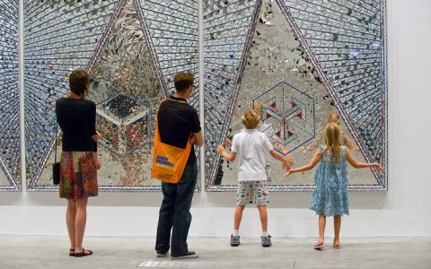 """From 13 March to 3 June 2015, you will be able to visit Iranian artist Monir Shahroudy Farmanfarmaian exhibition at the New York Guggnheim Museum."""