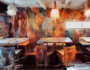 Kengo Kuma converts Tokyo Bar into Explosion of Colors