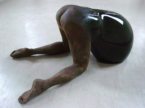 """""""Contemporary art is what we can see that Chie Aoki does. Chie Aoki created weird and singular sculptures that are intriguing.""""  Contemporary art by Chie Aoki sculptures Contemporary art on Chie Aoki sculptures artists i lobo you4"""