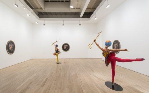 Contemporary art by Yinka Shonibare SHONIBARE Rage of the Ballet Gods 2015 10 large 480x300