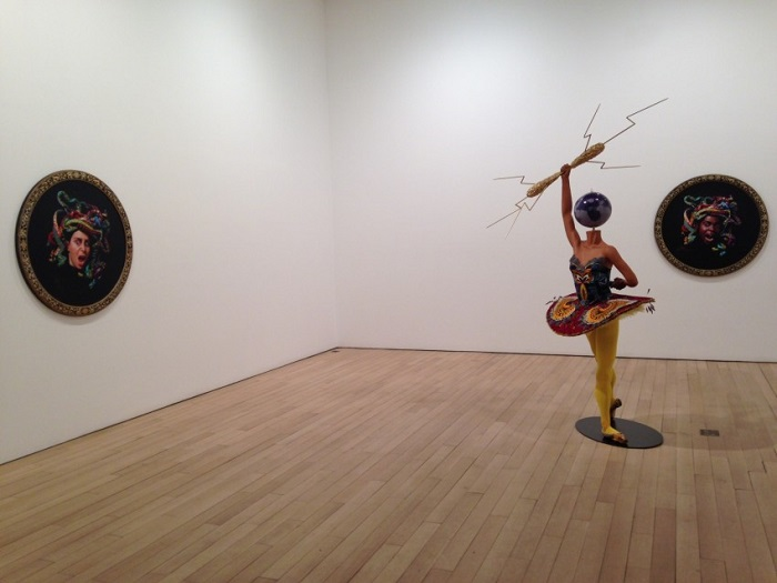"""""""Until the 20 June 2015, Yinka was exhibiting """"Rage of the Ballet Gods"""" in NY at James Cohan Gallery her new body of work, including exuberant, playful sculptures""""  Contemporary art by Yinka Shonibare Yinka Shonibare Rage of Ballet Gods Installation View 2 e1430935527205"""
