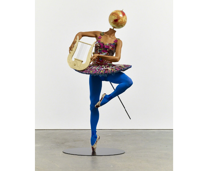 """""""Until the 20 June 2015, Yinka was exhibiting """"Rage of the Ballet Gods"""" in NY at James Cohan Gallery her new body of work, including exuberant, playful sculptures""""  Contemporary art by Yinka Shonibare transferir 2"""