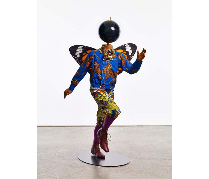 """""""Until the 20 June 2015, Yinka was exhibiting """"Rage of the Ballet Gods"""" in NY at James Cohan Gallery her new body of work, including exuberant, playful sculptures""""  Contemporary art by Yinka Shonibare transferir 3"""