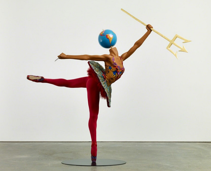 """""""Until the 20 June 2015, Yinka was exhibiting """"Rage of the Ballet Gods"""" in NY at James Cohan Gallery her new body of work, including exuberant, playful sculptures""""  Contemporary art by Yinka Shonibare transferir"""