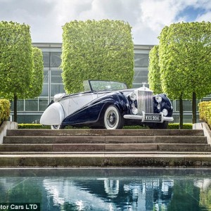 """""""The ultimate luxury car by Rolls Royce will go on sale in 2016 and will cost £250,000."""""""