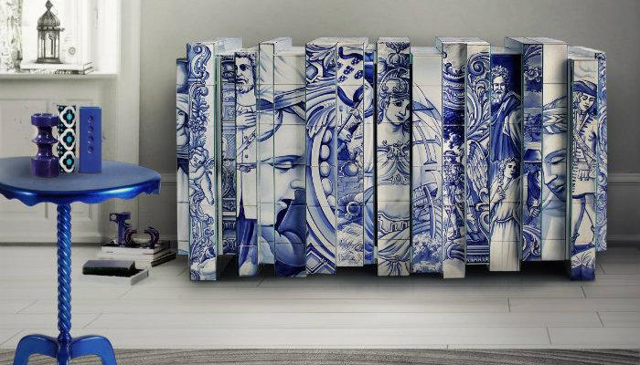 Design Furniture Inspired In Portuguese Tiles | I Lobo You | Boca Do Lobou0027s  Inspirational World Exclusive Design