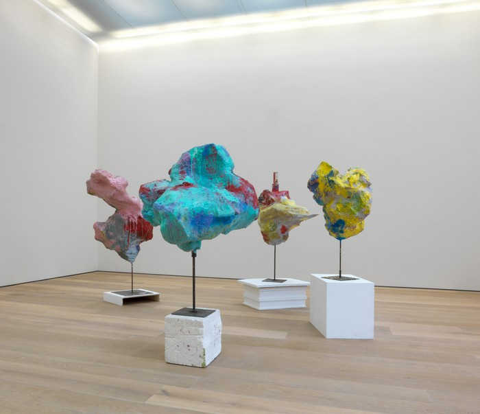 """""""Franz West born in Vienna has been a fixture in countless international survey exhibitions over the world, and it is included in major public collections.""""  Contemporary sculptures by Franz West Contemporary sculptures by Franz West artists i lobo you11"""