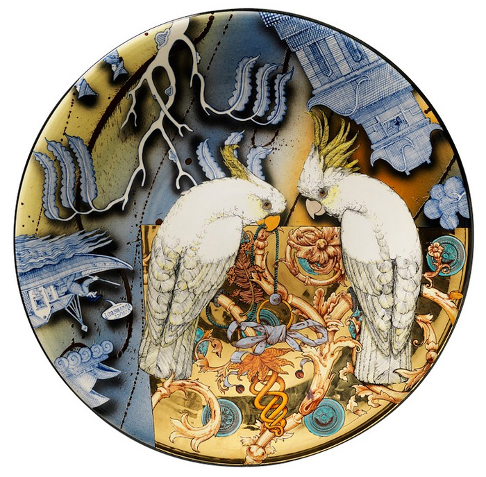 Ceramic art Ceramic art by Stephen Bowers Ceramic art by Stephen Bowers artists i lobo you3