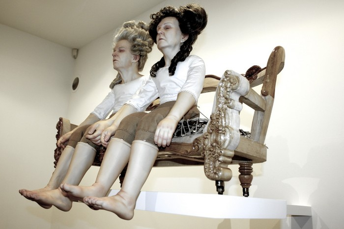 """""""Christian-Pontus Andersson became known for his monumental porcelain sculptures generally representing human figures."""""""