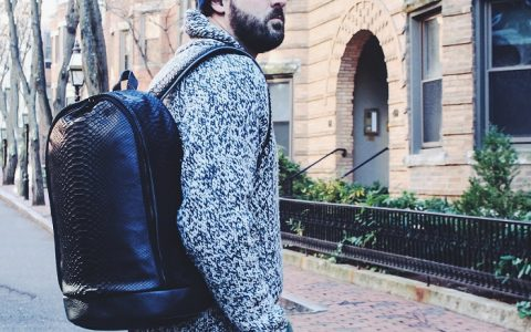 """""""This new luxury backpack shows how the world how luxury is changing and not only the logo matters to define luxury products."""""""