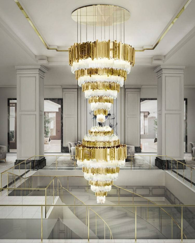The Empire XL chandelier by our partner luxxumodernlamps is anhellip